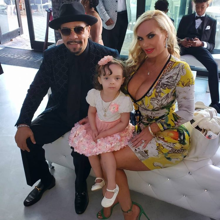 ICE-T's wife hits back at critics slam her for breastfeeding four-year-old daughter