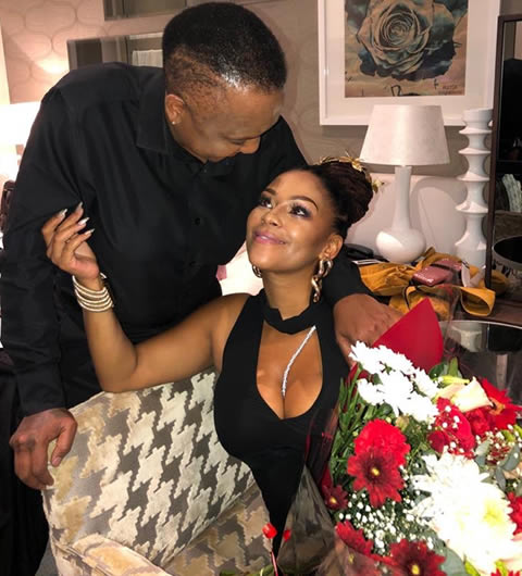 Letoya Makhene thanks her father for blessing her current relationship