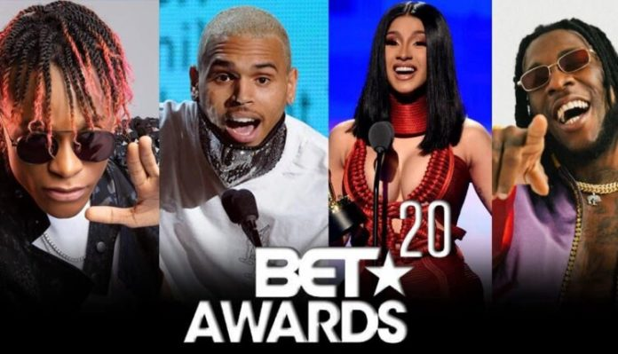 BET awards 2020: Complete List of Winners