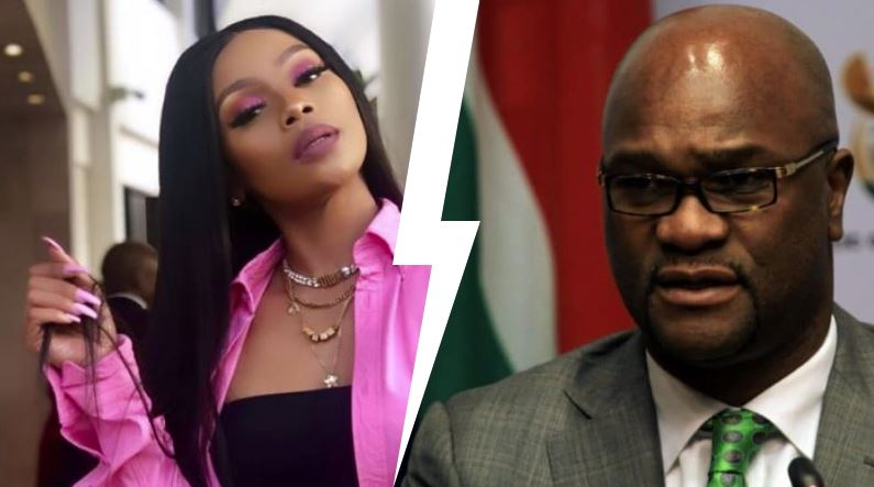 Watch: Zodwa calls Vusi a fraudster, she wants her gifts back