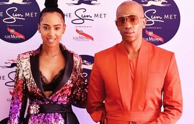 Theo Kgosinkwe and Vourne are becoming parents