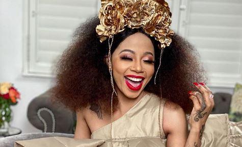 Kelly Khumalo responds to blackface criticism