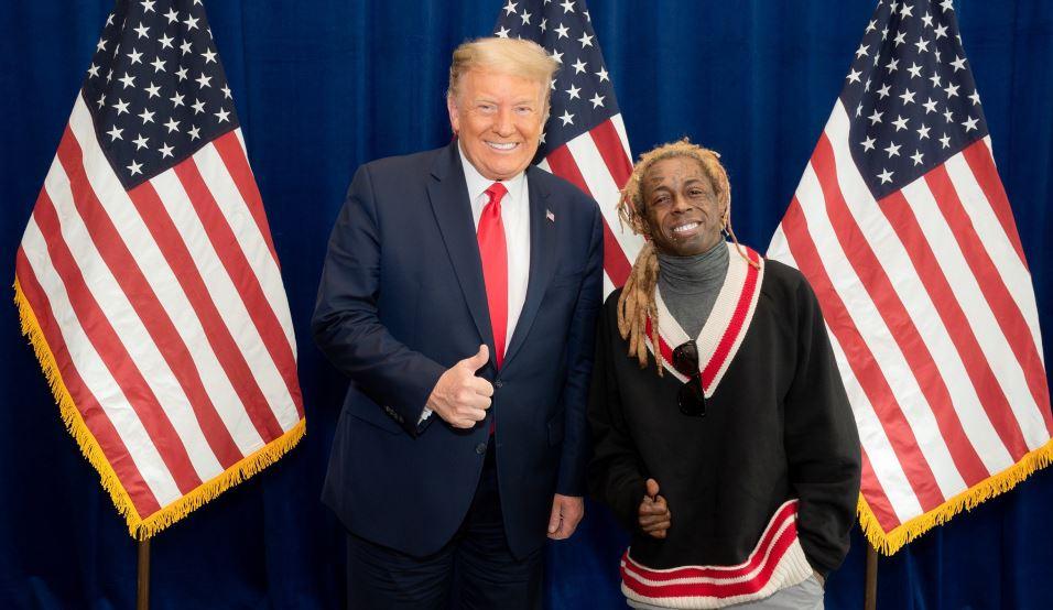 Lil Wayne endorses Trump after meeting with him