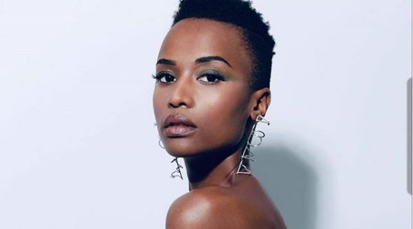 Zozibini Tunzi: 'we are all beautiful in our natural hair or weaves'