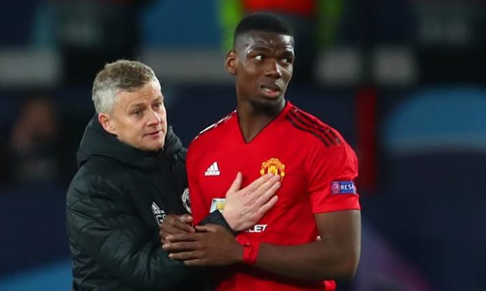 Ole responds to Pogba's agent saying he is unhappy at Man U