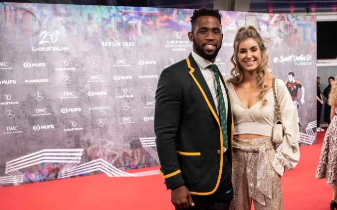 Siya Kolisi speaks about Rachel testing positive for COVID-19