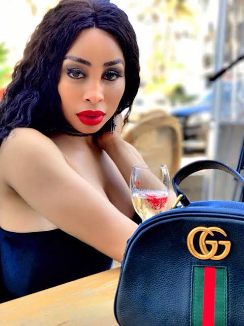 Khanyi Mbau shares her thoughts on booze ban