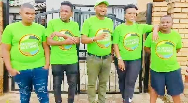 Zodwa Wabantu spoke for the first time on main reasons she joined politics, as well why she chose Kenny Kunene's political party, the Patriotic Alliance (PA) led by businessman Gayton McKenzie.