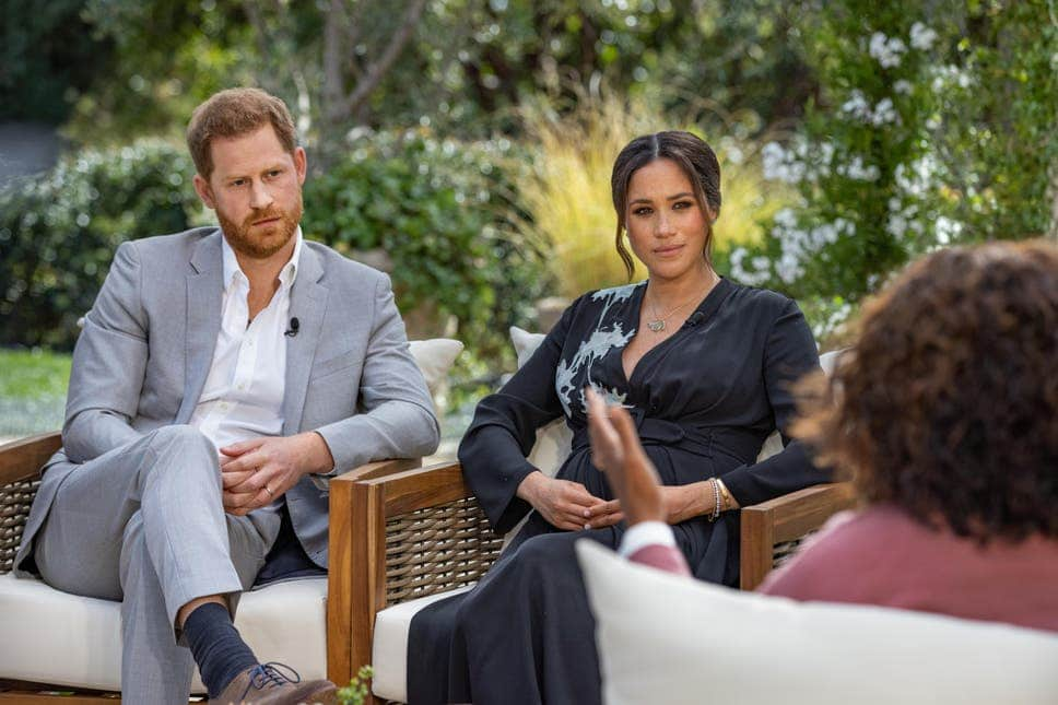 Meghan Markle accuses member of royal family of racism during her interview with Oprah Winfrey which aired last weekend.